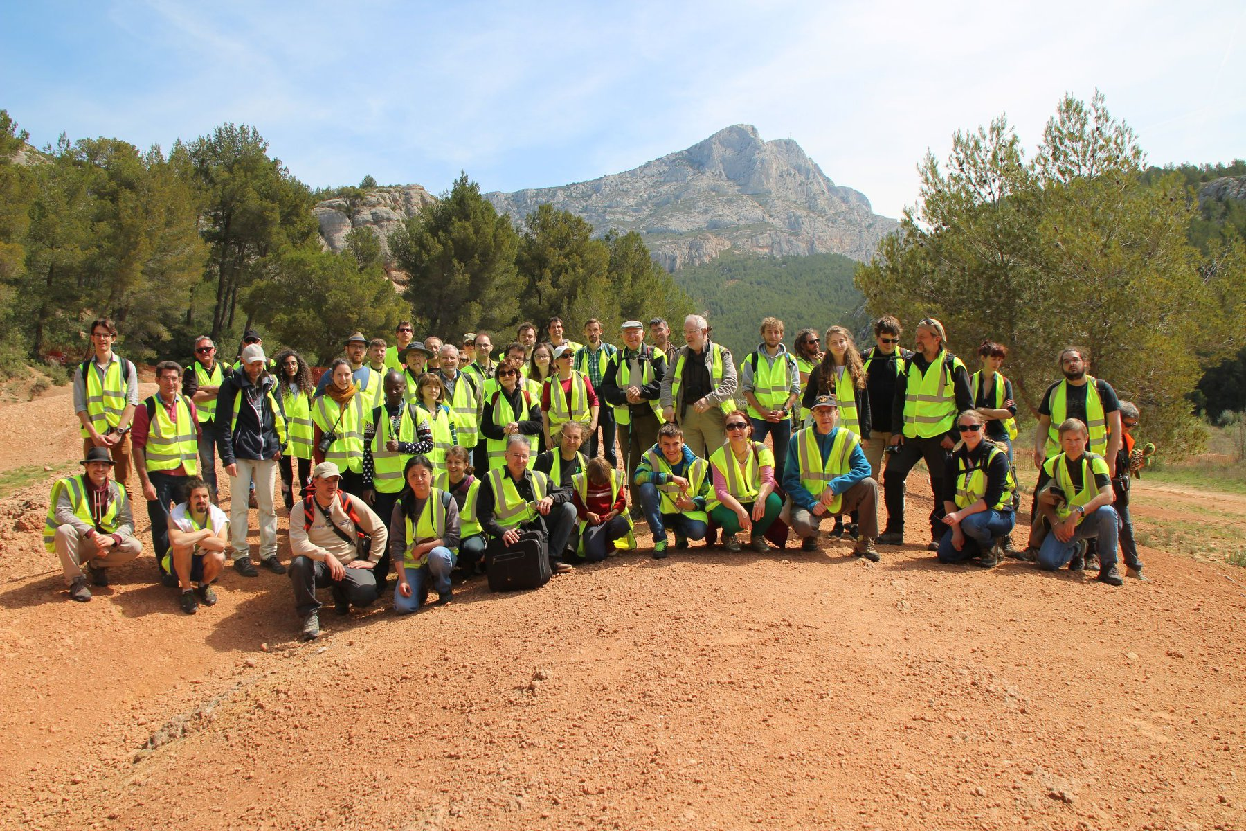 Excursion APF 2019 sur la Sainte Victoire